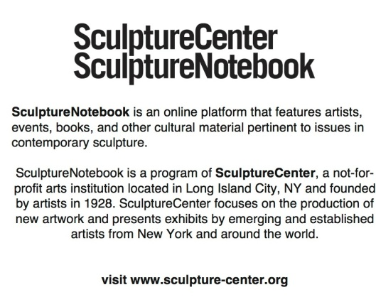 SculptureCenter-SculptureNot 2